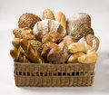 Variety of bread Stock Photos