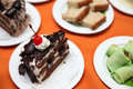 Variety of cakes
