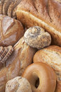 Variety Of Different Breads Royalty Free Stock Images