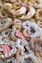 Variety of Fresh German Pretzels Royalty Free Stock Photo
