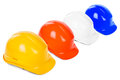 Variety of hard hats Stock Photography