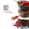 Variety of rice Royalty Free Stock Photography