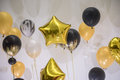 Variety shape Balloon decoration for party Royalty Free Stock Photo