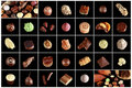 Variety of special chocolates Royalty Free Stock Photos