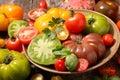 Variety tomato Royalty Free Stock Photo