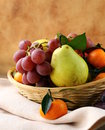 Various autumn fruits Royalty Free Stock Images