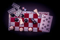 Various Board Games And Figuri...