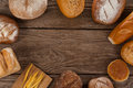 Various bread loaves Royalty Free Stock Photo