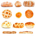 Various Bread Types Royalty Free Stock Photo
