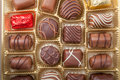 Various chocolate candies Royalty Free Stock Photo