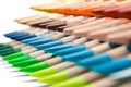 Various Colored Crayons Royalty Free Stock Images