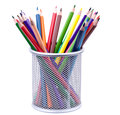 Various colorful pencils Stock Images