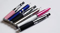 Various e cig models cigarette different styles and colors Royalty Free Stock Photos