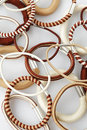 Various elastic band Royalty Free Stock Photo