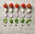 Various Fresh Raw Food Ingredi...