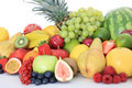 Various fruits Stock Images