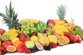 Various fruits Stock Photography