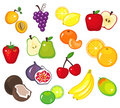 Various Fruits Part 1 Stock Photography