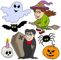 Various Halloween images 1 Royalty Free Stock Photo