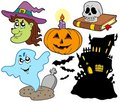 Various Halloween images 4 Royalty Free Stock Photo
