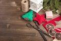 Various Items For Christmas Ha...
