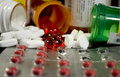 Various Medicines and Narcotics Royalty Free Stock Photo
