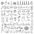 Various Outline Object Art