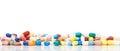 Various pharmaceuticals on white background Stock Photos