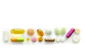 Various pills Royalty Free Stock Photos