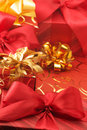 Various red gifts Stock Images