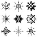 Various Snowflake Designs For ...