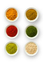 Various spices in a cup Royalty Free Stock Images