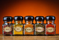 Various spices still life with in bottles Royalty Free Stock Photography