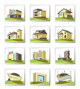 Various types of construction Stock Image