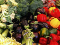 Various vegetables in the market Royalty Free Stock Images