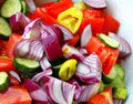 Various vegetables mix Stock Photo
