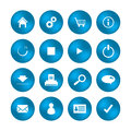 Various web icons with special design Stock Photos