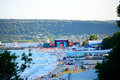Varna beach MTV concert scene Royalty Free Stock Photo