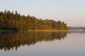 Vasaknas lake Royalty Free Stock Image