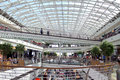 Vasco da gama shopping centre in lisbon portugal mall interior Royalty Free Stock Photography