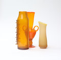 Vases from the beginning of the th century Royalty Free Stock Photo