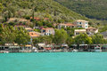 Vasiliki bay, Lefkada Stock Photography