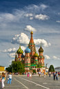 Vasily Blazhennogo cathedral Royalty Free Stock Photography