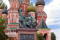 Vasily Blazhennogo's cathedral.Fragment.Russia. Royalty Free Stock Photos