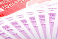 Vat tax polish documents Royalty Free Stock Image