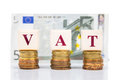 VAT Or Value Added Tax Concept...