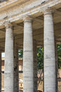 Vatican colonnade of bernini rome s surrounding st peter s square Royalty Free Stock Photography