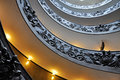 Vatican helix staircase Royalty Free Stock Photo