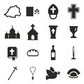 Vatican Icons Royalty Free Stock Photo