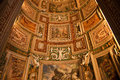 Vatican Museum Map Room Ceiling Rome Royalty Free Stock Photo
